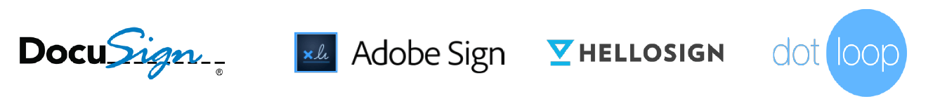 top e-signature software vendors