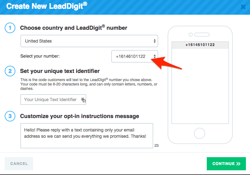 leadpages vs unbounce: LeadDigits screenshot