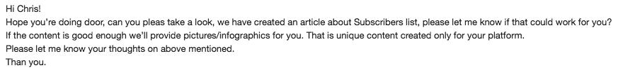 bad english email