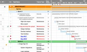 Best gantt chart software for sprint tracking