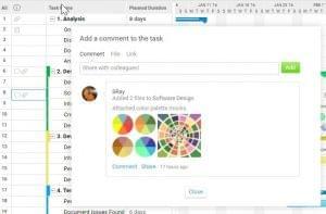 Gantt chart software for collaboration