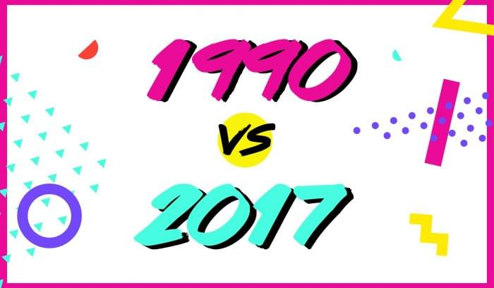 1990s vs. 2017: Marketing Then and Now (Infographic)