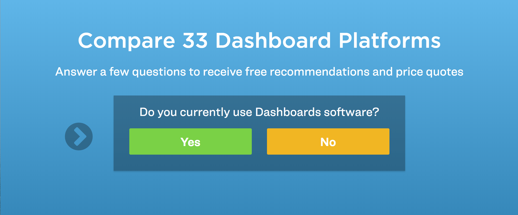 choose the best dashboard software