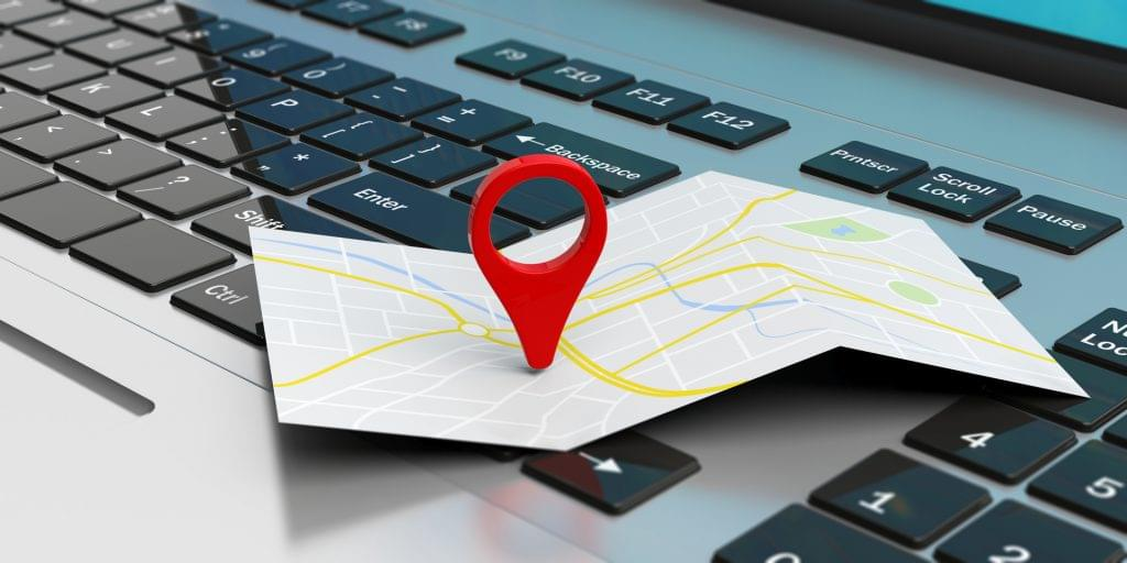 Online business mapping
