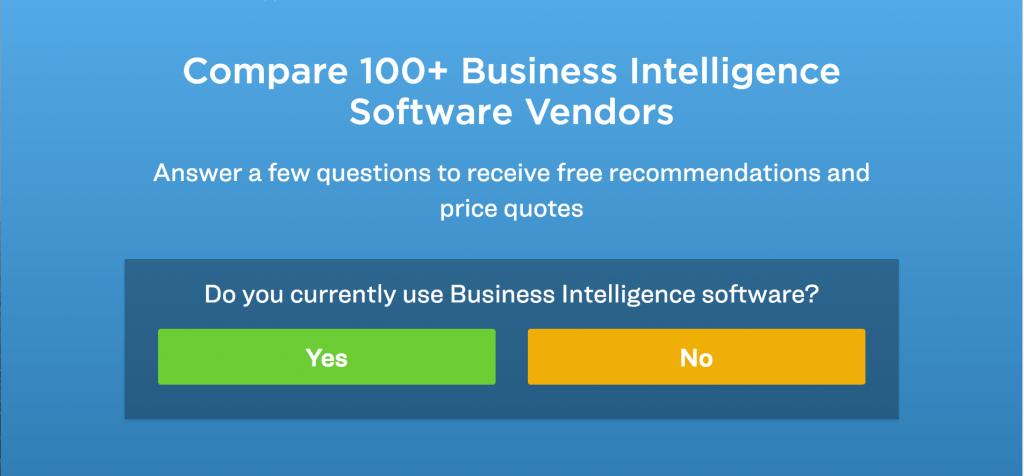 choose the best BI software