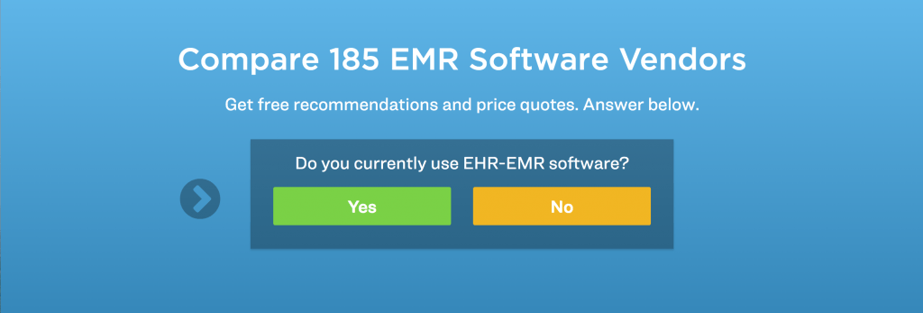choose the best EHR vs. EMR software