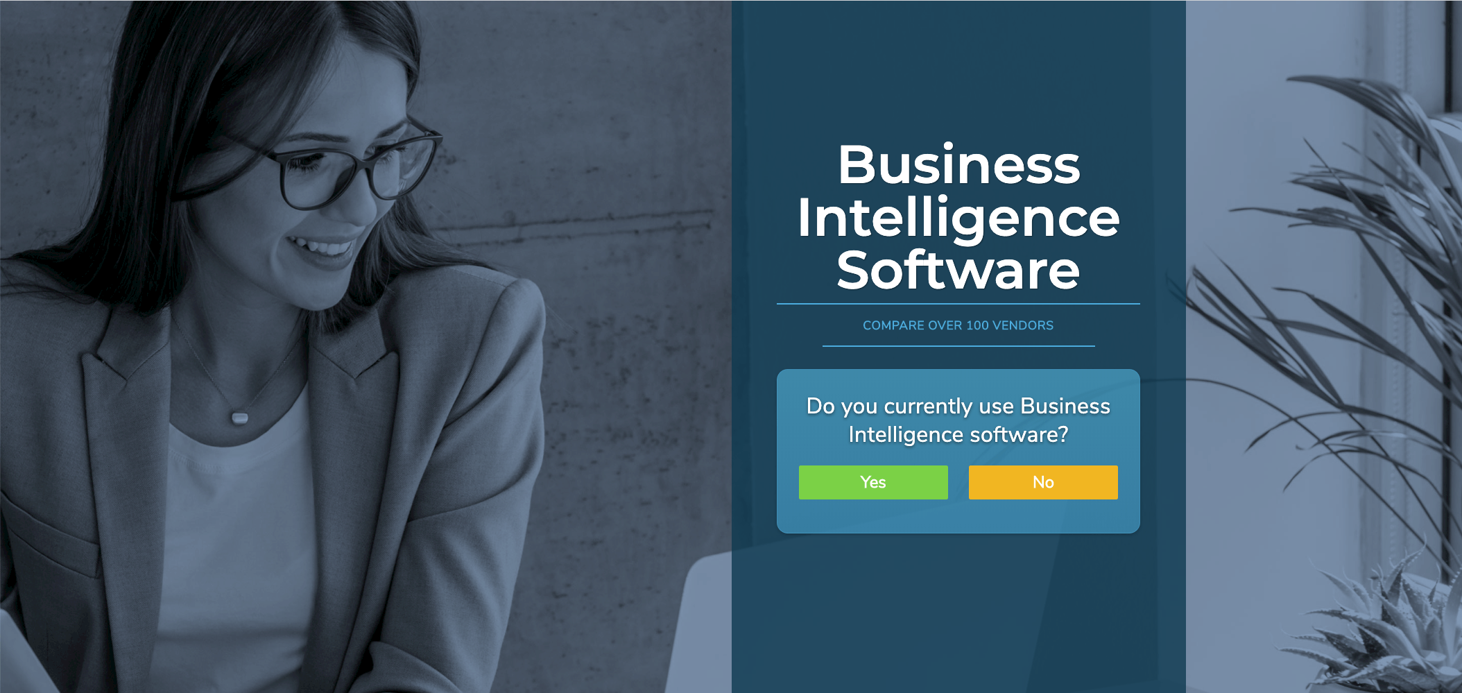 get recommendations for the right business intelligence software.