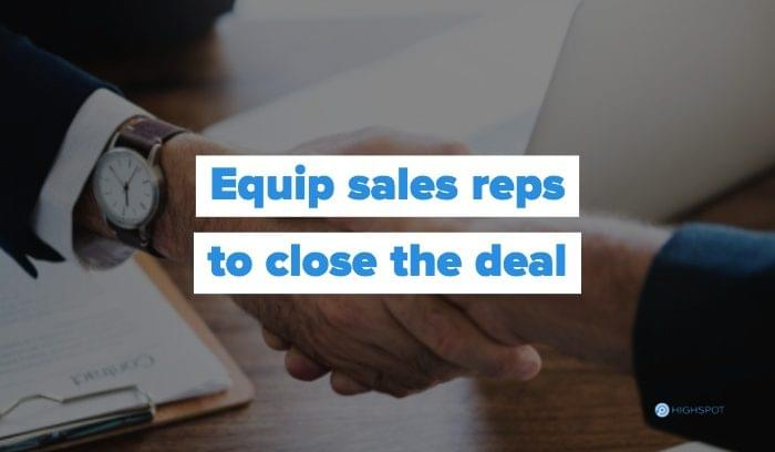 Equipped and Empowered: Best Practices for Enabling Your Sales Team