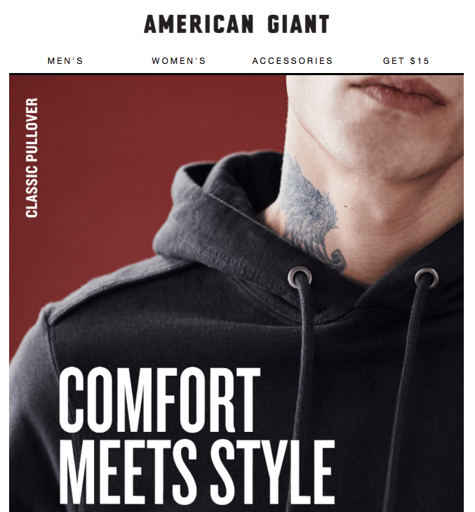 hero image for American Giant