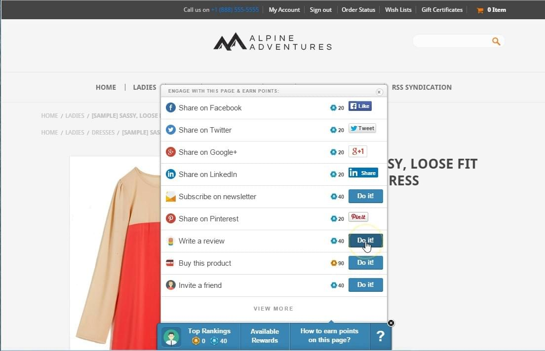 loyalis ecommerce loyalty software