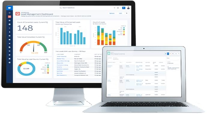 Salesforce analytics