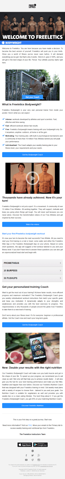 freeletics-email