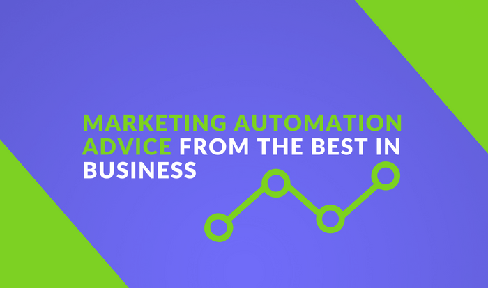 Expert marketing automation advice