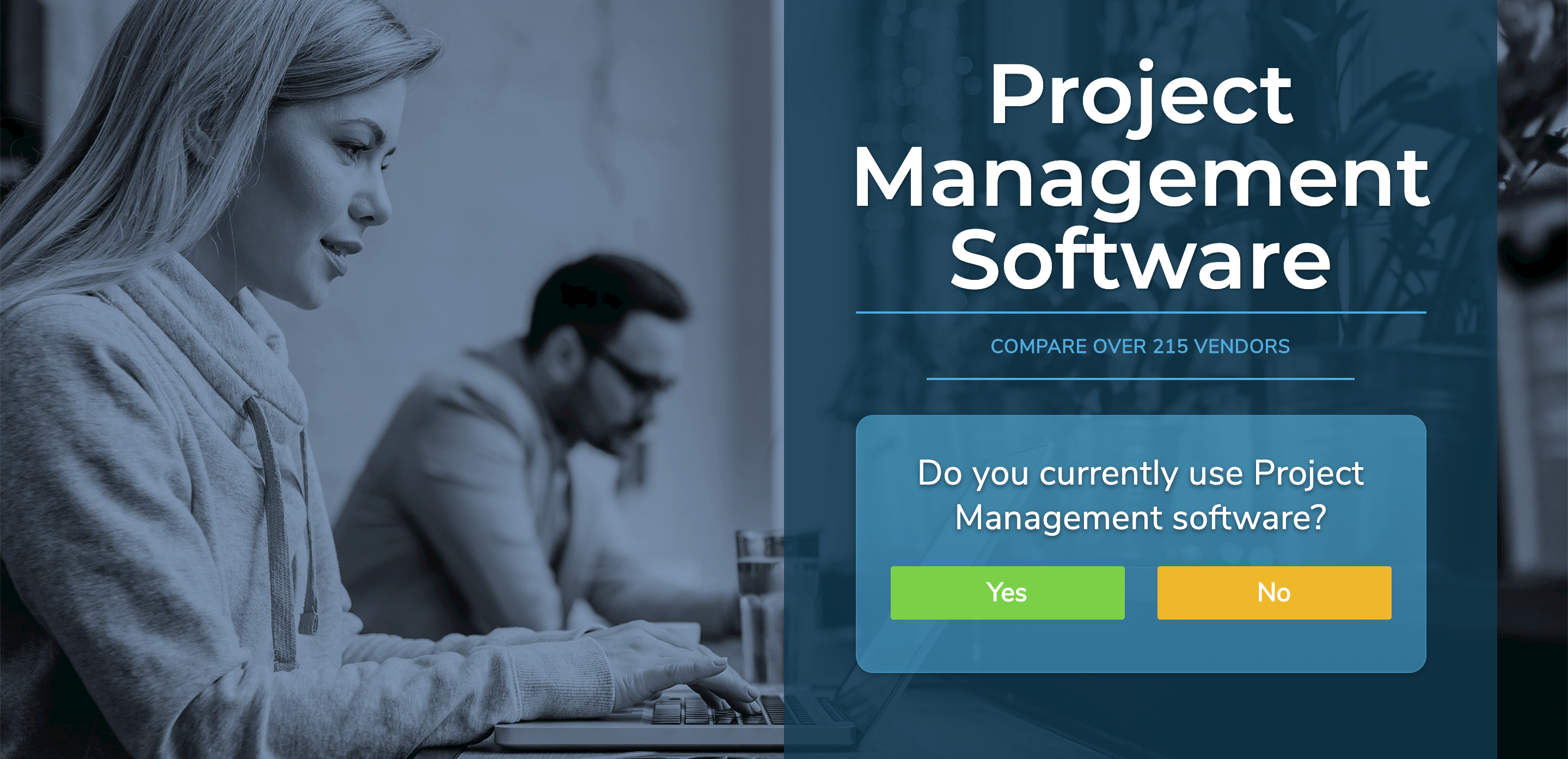 project management software selection tool. Find your perfect software.