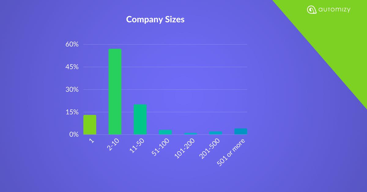 marketing automation survey company size