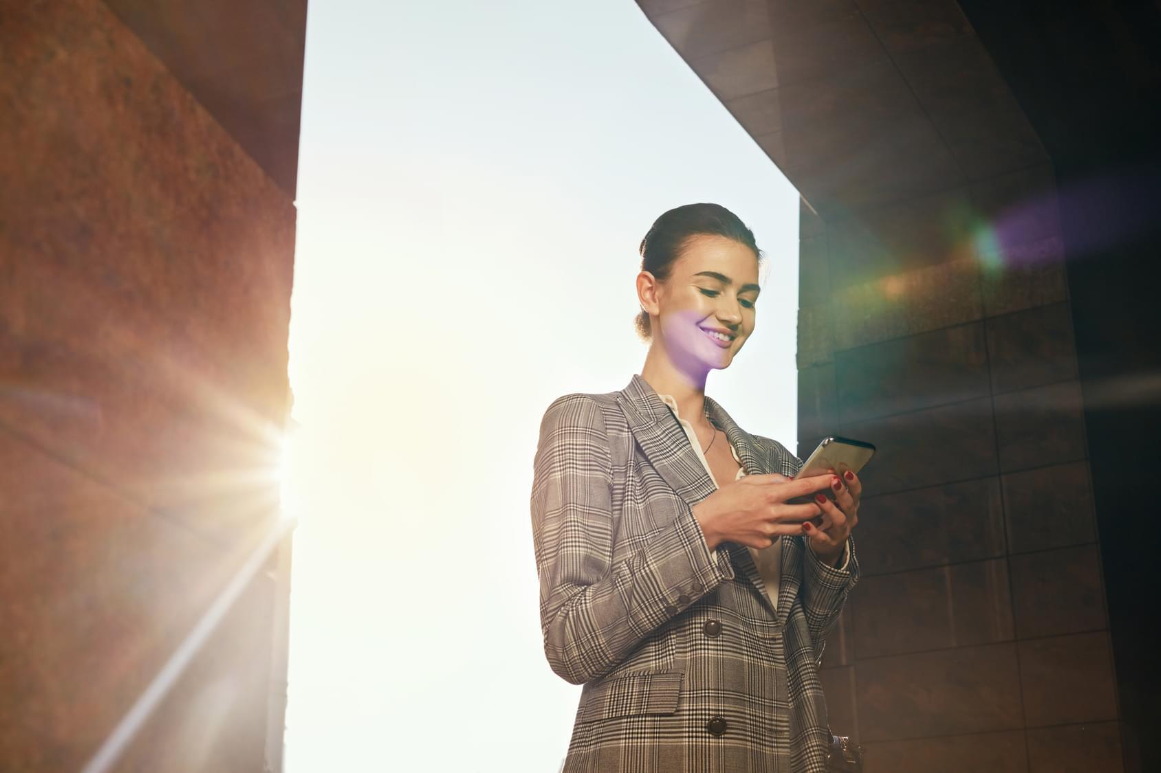 mobile crm sales data