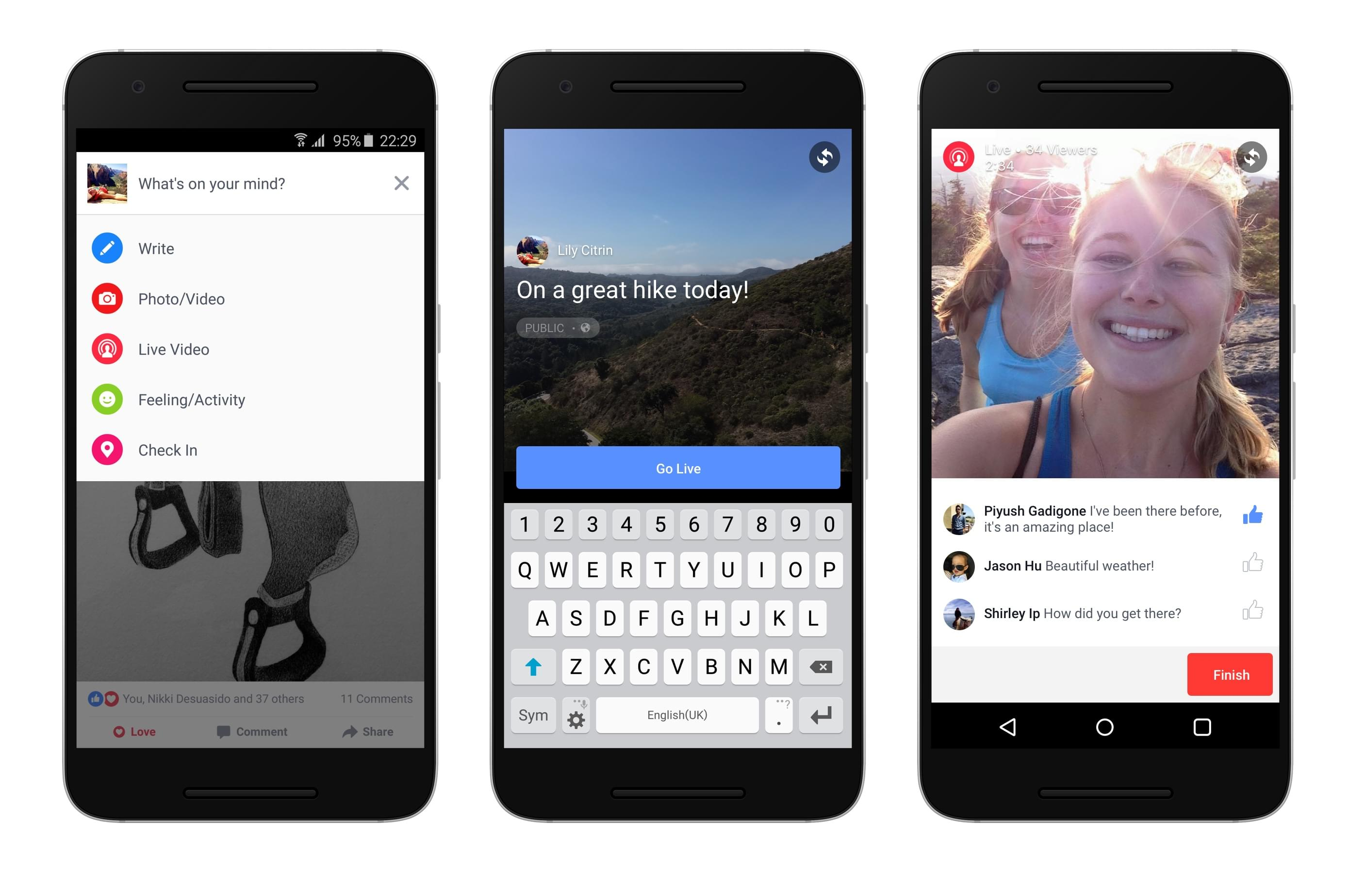 access facebook live for live webinars on any phone.