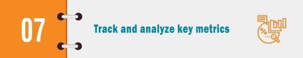 analyze key metrics