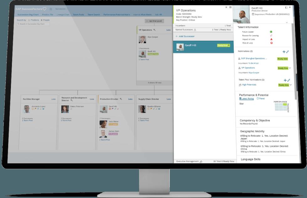 SAP successfactors performance management.
