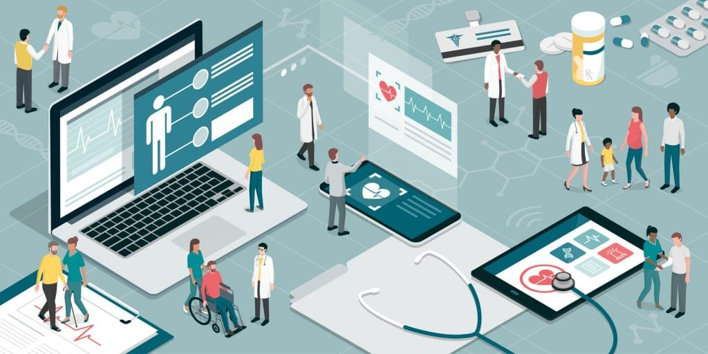 Doctors using technology to help their patients