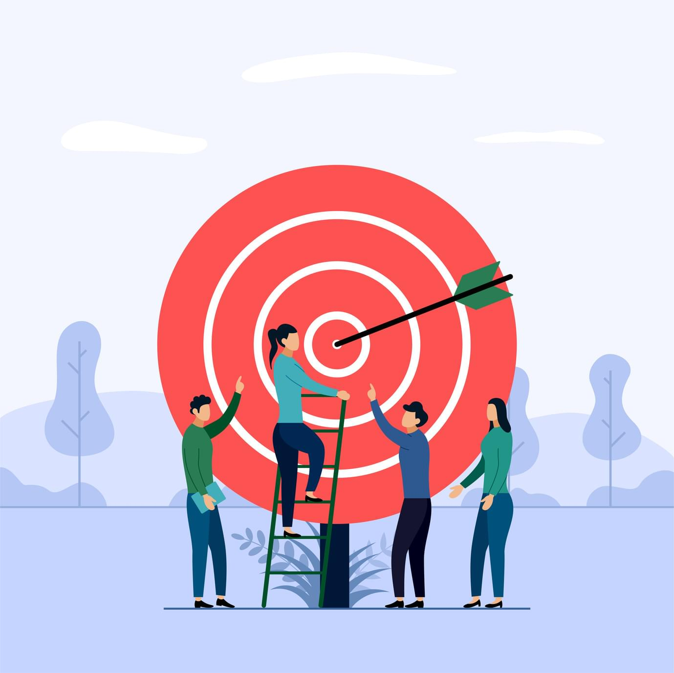 hit goals with employee management software
