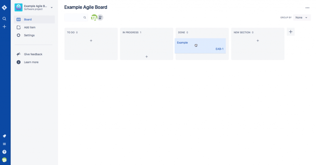 JIRA allows you to see workflows as boards