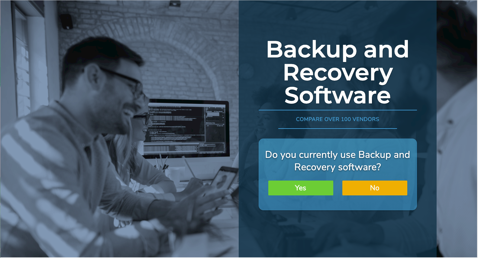 visit the backup and recovery software overview page