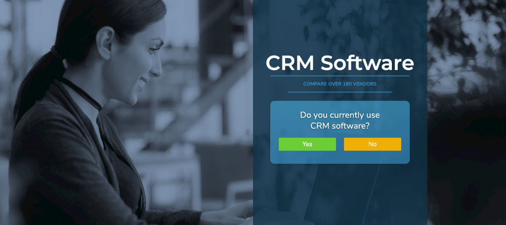 Click this banner to visit our CRM software page.