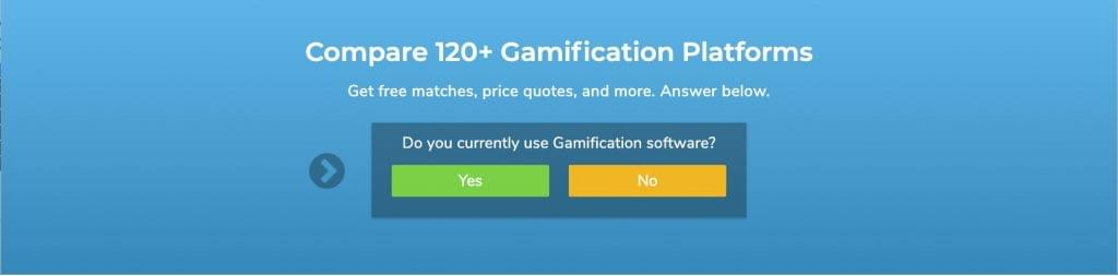 fill out the form for gamification software recommendations