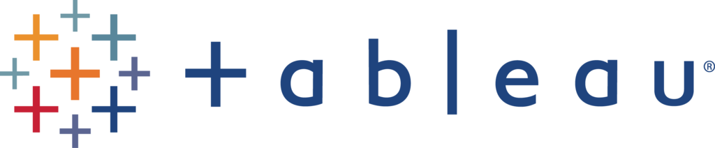 Logo for Tableau.
