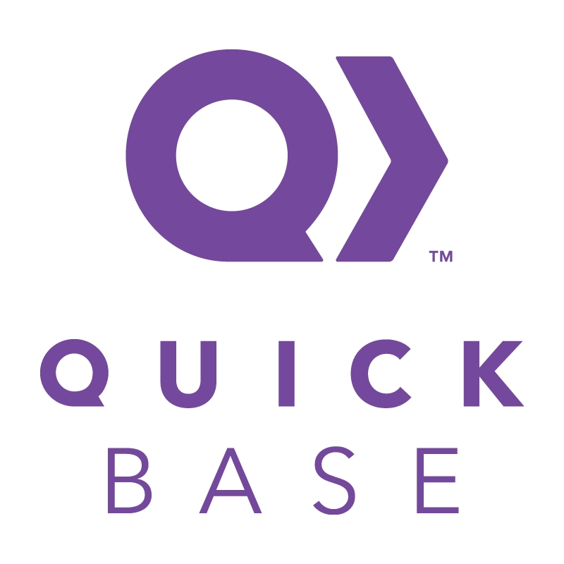 Official logo for Quick Base.