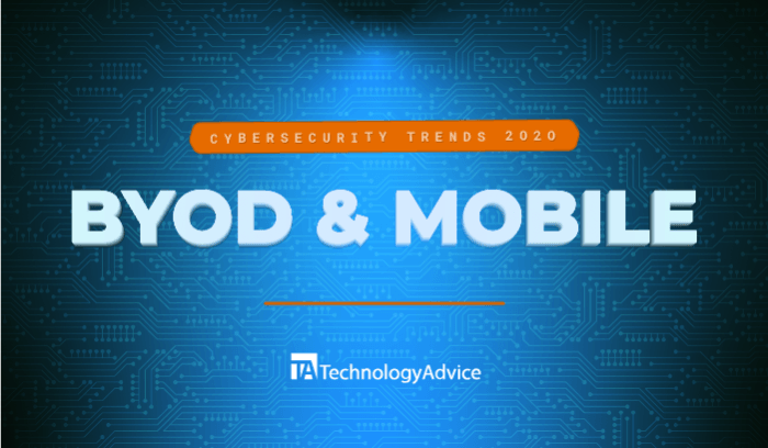 Cybersecurity Trends in 2020: BYOD and Mobile