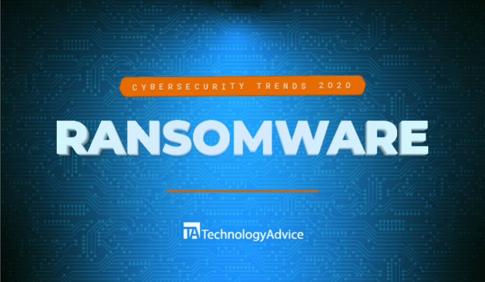 Cybersecurity Trends in 2020: Ransomware