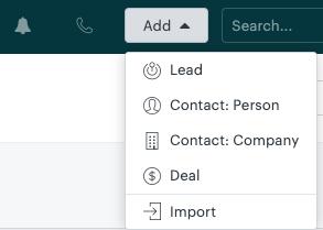 zendesk sell add lead widget.