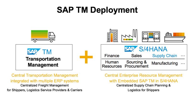 SAP SCM deployment.