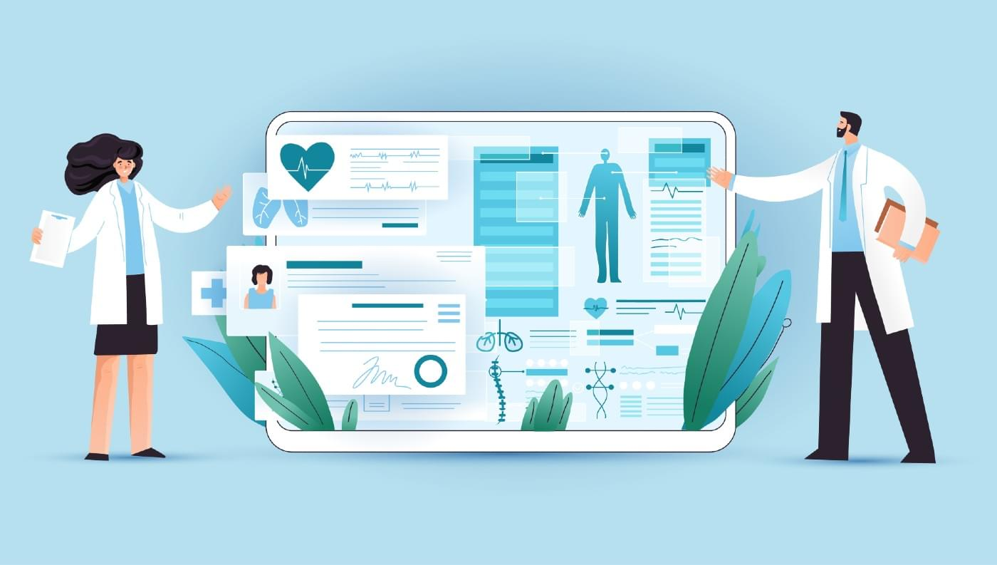 Marketing to the healthcare industry.