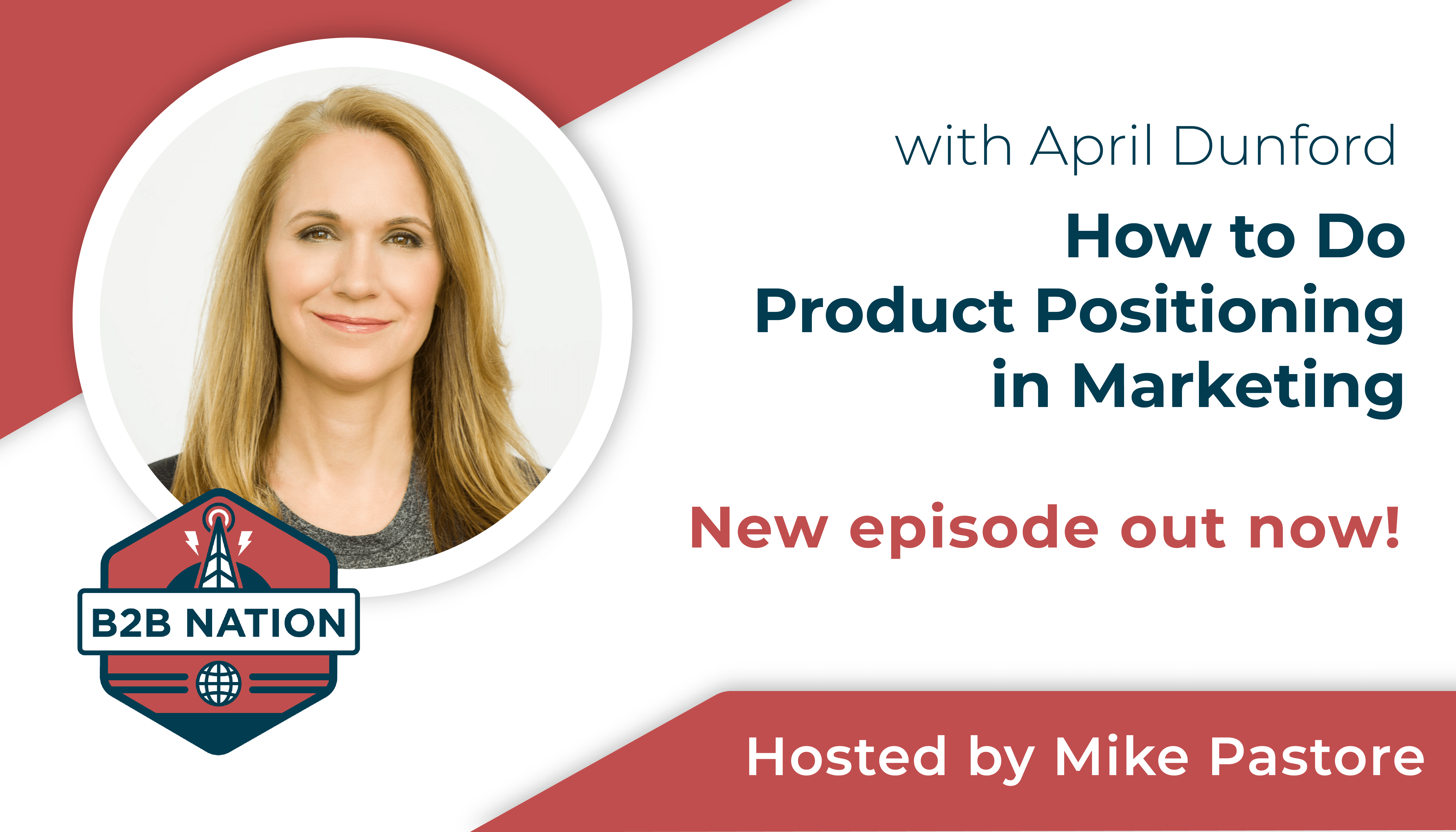 How to do product positioning, starring April Dunford.