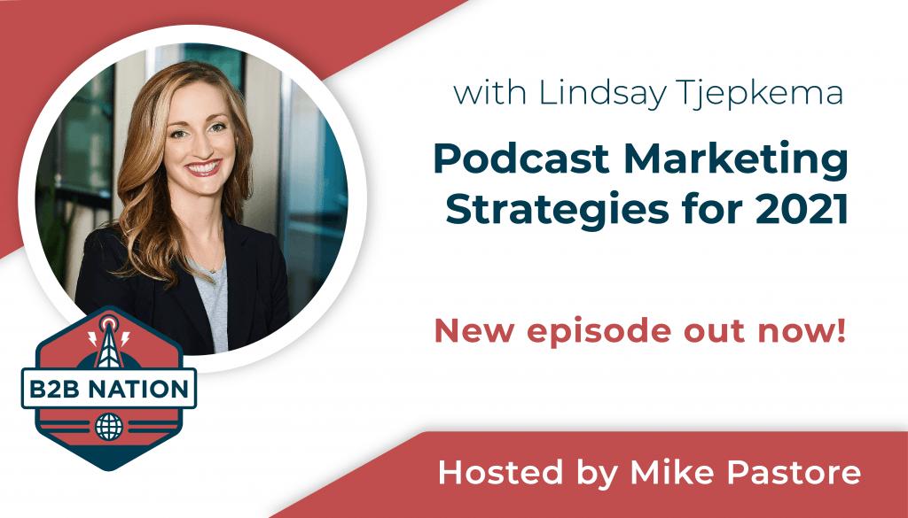 Podcast Marketing Strategies for B2B brands.
