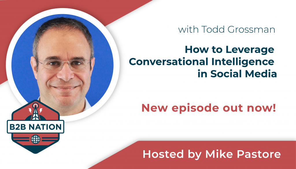 How to leverage conversational intelligence in social media.