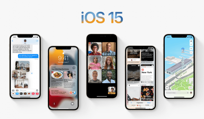 Apple iOS 15 will release new privacy features.