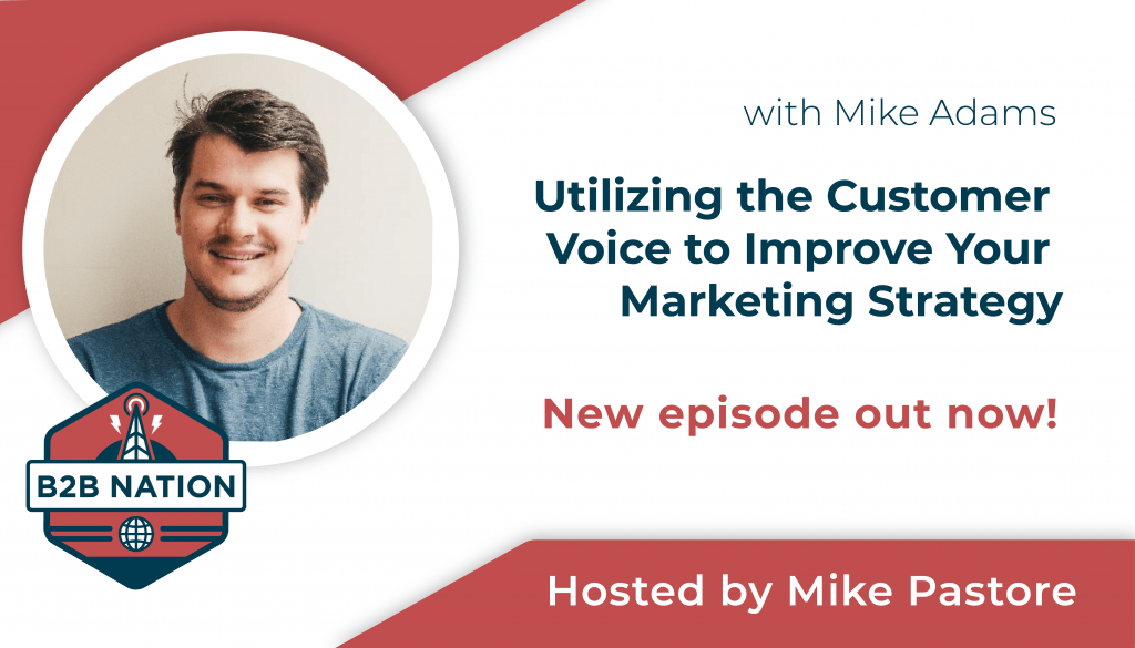 Utilizing customer voice strategies to improve your marketing.