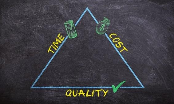 Time, cost, and quality: considerations for choosing a PRM.