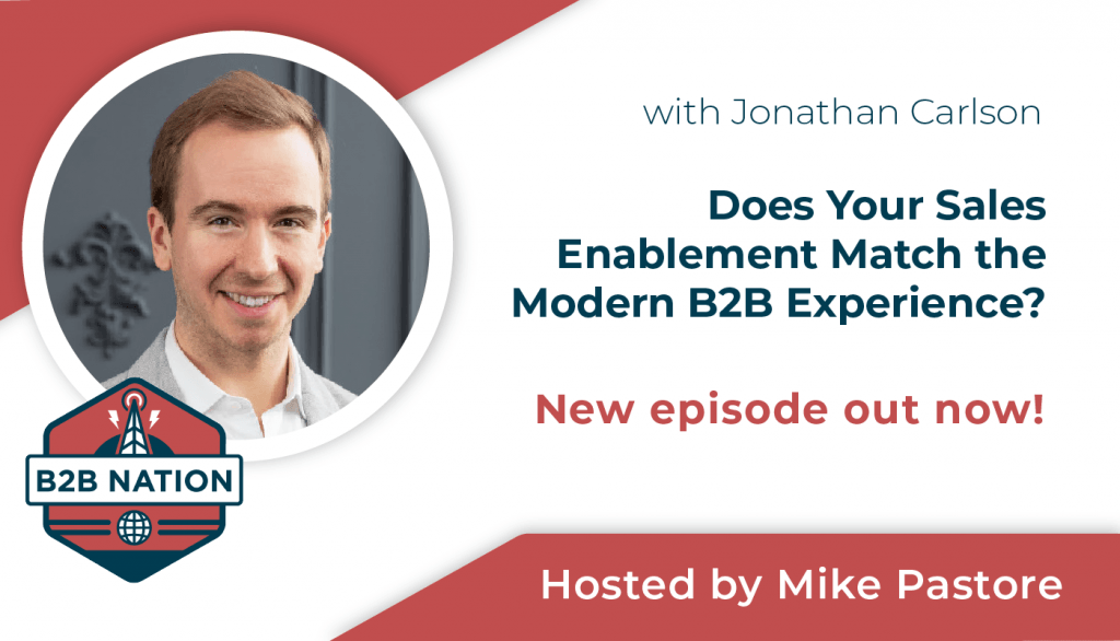 Sales Enablement for the modern B2B experience.