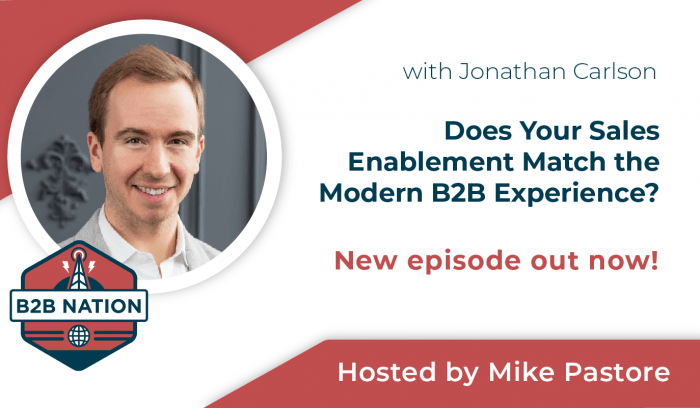 Does Your Sales Enablement Match the Modern B2B Experience?